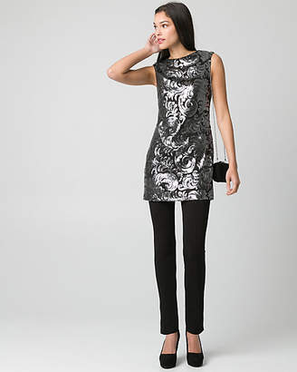 Le Château Sequin V-Back Tunic Top