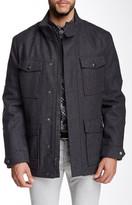 Andrew Marc Trevor Wool Military Coat