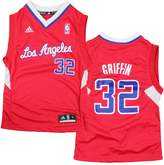 adidas Los Angeles Clippers Blake Griffin # 32 NBA Youth Big Boys Road Replica Jersey