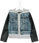 Diesel Jaina denim jacket - kids - Cotton/Viscose - 8 yrs