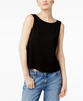 Eileen Fisher Stretch Jersey Boat-Neck Shell, Regular & Petite