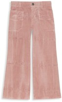Gucci Little Girl's & Girl's Patch Corduroy Pants