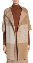 Lafayette 148 New York Women's Flannel Bicolor Jacquard Coat