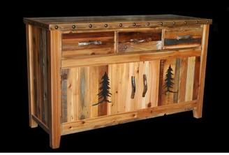 Loon Peak Jorgensen 3 Drawer Buffet Table