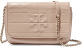 Tory Burch Marion quilted patent-leather shoulder bag