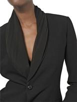 Rick Owens Viscose Light Crepe Tuxedo Jacket