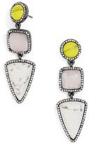 BaubleBar Women's Amari Drop Earrings