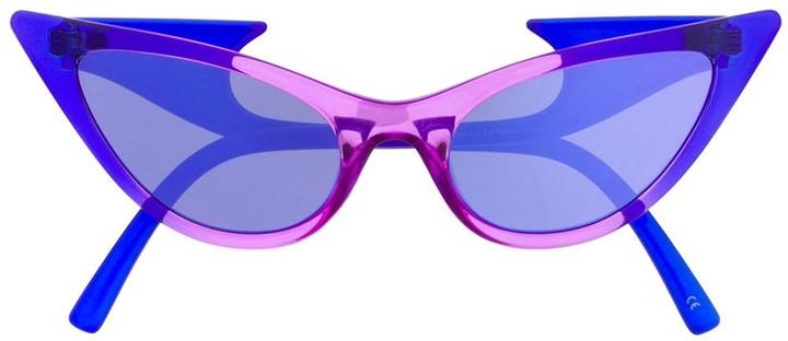 Le Specs x Adam Selman The Prowler sunglasses