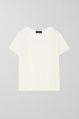 Nili Lotan Kimberly Linen T-shirt - Ivory