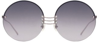 For Art's Sake Vermeer 62MM Faux Pearl Sunglasses