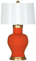 Barclay Butera For Bradburn Home Cleo Table Lamp - Tangerine