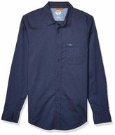 Dockers Long Sleeve Button Down Washed Shirt
