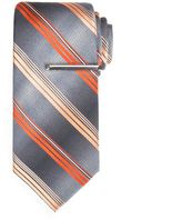 Apt. 9 Tilman Plaid Tie with Tie Bar - Men