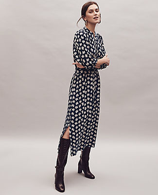 Ann Taylor Petite Horse Belted Dress