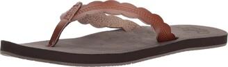 Reef Women's Sandals Cushion Celine   Water Friendly Flip Fop   Rust   Size 5