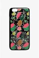 Select Fashion Fashion Womens Black Glitter Tropical Fruit Iphone 5 Case - size One