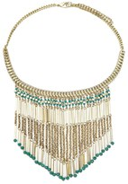 Forever 21 FOREVER 21+ Beaded Statement Necklace