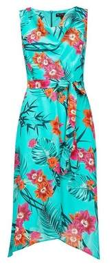 Dorothy Perkins Womens **Billie & Blossom Tropical Print Midi Dress