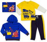 Nannette 3-Pc. Shirt, Hoodie & Pants Set, Toddler & Little Boys (2T-7)