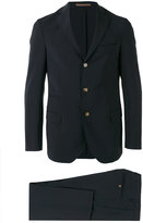 Eleventy notched lapel suit - men - Elastodiene/Acetate/Wool/PBT Elite - 52