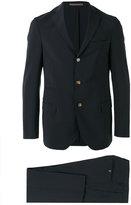 Eleventy notched lapel suit - men - Elastodiene/Acetate/Wool/PBT Elite - 54