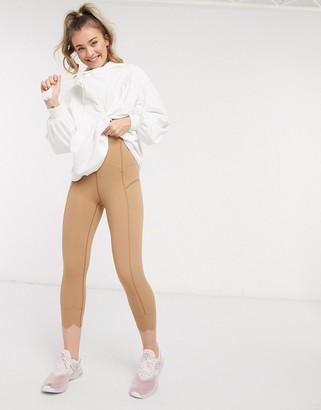 FREE PEOPLE MOVEMENT petal pusher leggings in khaki