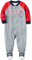 Carter's 1-Pc. All-Star Baseball Footed Pajamas, Baby Boys (0-24 months)