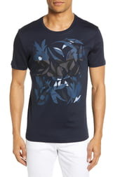 BOSS Tessler Slim Fit Graphic T-Shirt
