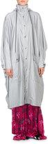 Balenciaga Reflective Long Opera Rain Coat