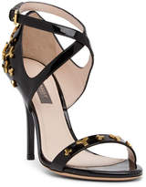 Bally Sabry Patent Leather Stiletto Sandal