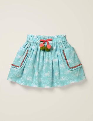 Pom Pocket Skirt