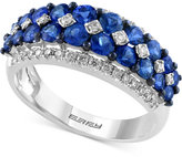 Effy Final Call Sapphire (1-3/4 ct. t.w.) and Diamond (1/3 ct. t.w.) Ring in 14k White Gold