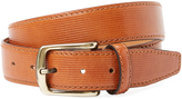 Berge Men's Ribbed Leather Belt