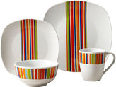 Asstd National Brand Westwood Stripes 16-pc. Dinnerware Set