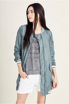 True Religion Long Womens Bomber