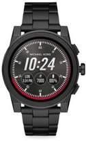 Michael Kors Grayson Stainless Steel IP Touchscreen Bracelet Smartwatch