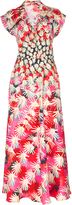 Temperley London Garden Silk Short Dress