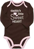 Carter's Baby Girls' Long Sleeve Graphic Bodysuit
