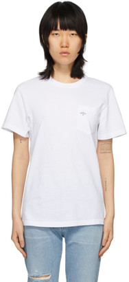 Noah NYC White Pocket T-Shirt