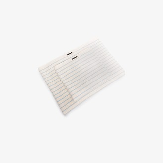 Tekla Neutral Striped Organic Cotton Towel Set