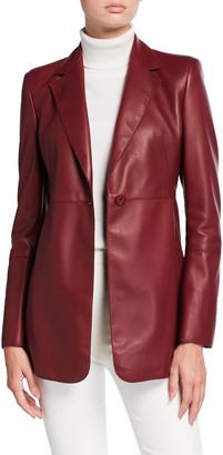 Akris Leni Leather Jacket