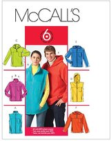 Mccall's M5252 Misses/Men's Unlined Vest and Jackets