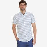 Nautica Big & Tall Oxford Piqué Short Sleeve Shirt