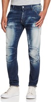 G Star 5620 3D Slim Fit Jeans in Moon Wash