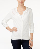 Tommy Hilfiger Marilyn Pointelle Cardigan, Only at Macy's