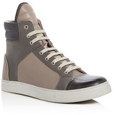 Kenneth Cole Double Header High Top Sneakers