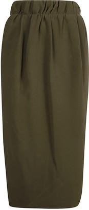 N°21 N.21 Mid-length Back-zip Skirt