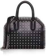 Stella McCartney Black Studded Falabella Box Mini Bag