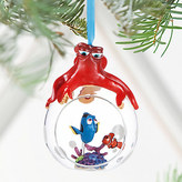 Disney Finding Dory Glass Globe Sketchbook Ornament - Personalizable