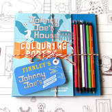 Flos Rosie Flo's colouring books Personalised Johnny Joe Colouring Bundle